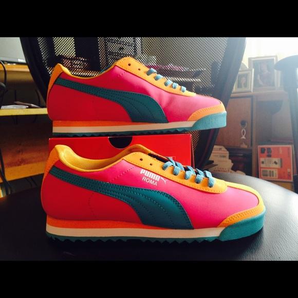Niñas Zapatos Puma Tamaño 3.5 9abs2N2