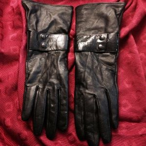 Missoni Accessories - BLACK BUTTER SOFT SHEEP LEATHER GLOVES