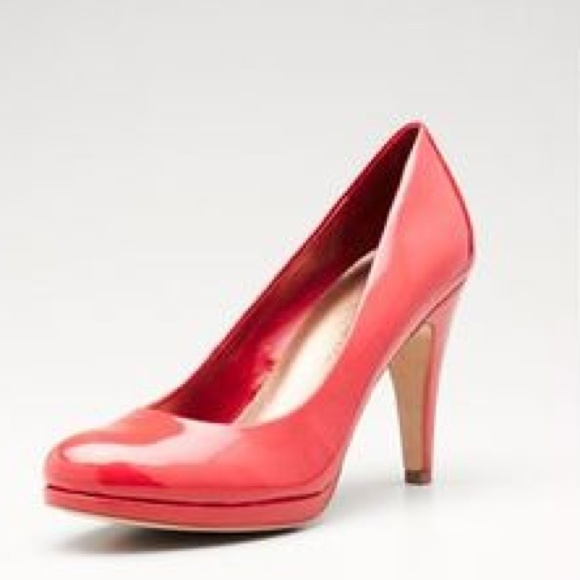 62% off Franco Sarto Shoes - Crimson red heels from V's closet on ...