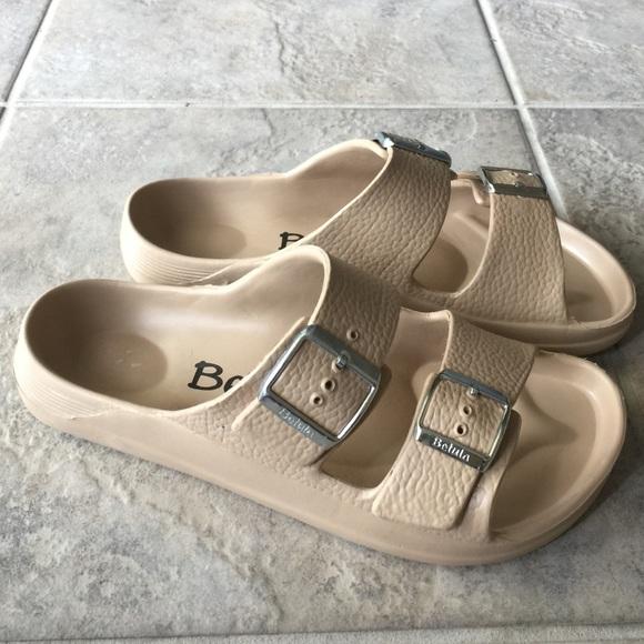 820f58d5495 Birkenstock Shoes - Birkenstock Betula cream plastic sandals EU 38