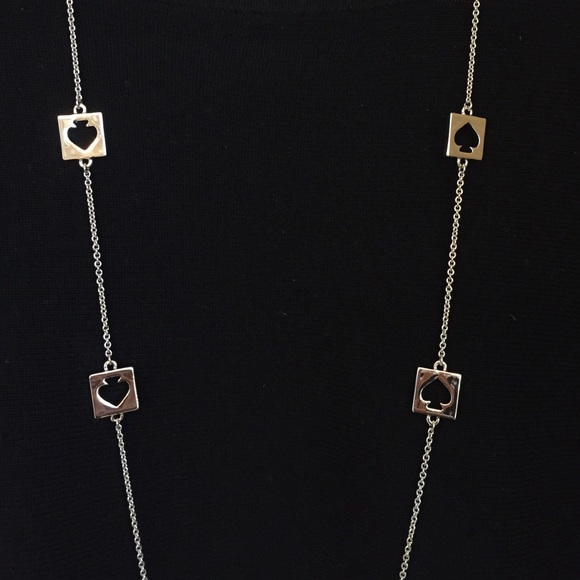 31 Off Kate Spade Jewelry Kate Spade Silver Quot Spade