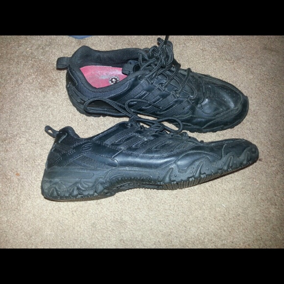 Skechers Shoes | Black No Slip | Poshmark