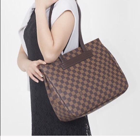 Louis Vuitton Handbags - Authentic Louis Vuitton Damier Parioli PM Tote Bag bae1664717998