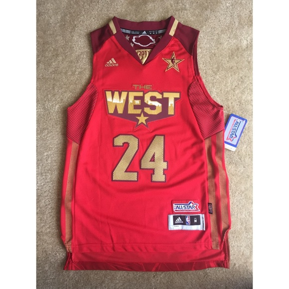 885ecdd3a Kobe Bryant West 2011 All Star Jersey. NWT. Adidas