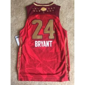 6efb7a6d1 Adidas Shirts   Tops - 🆕 Kobe Bryant West 2011 All Star Jersey