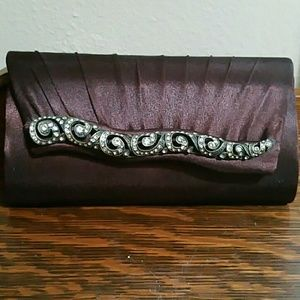 Clutches & Wallets - Satin evening bag