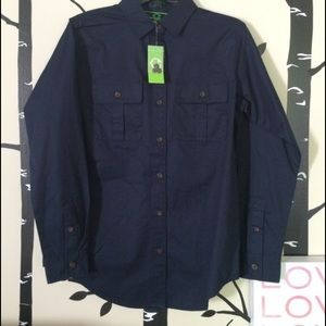 C. Wonder button down shirt