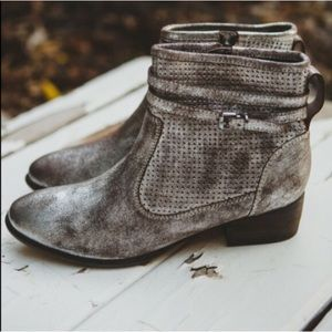 Anthropologie booties with shoebox