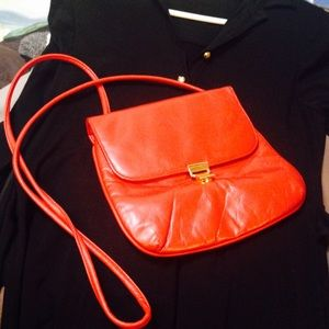 Vintage red Crossbody
