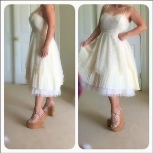 💘HP💘NWT FREE PEOPLE FROM THEIR BRIDAL COLLECTION