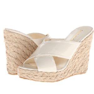 Gabriella Rocha Shoes - Gabriella Rocha Bone Espadrille Wedge