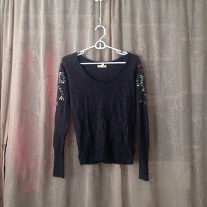 Urban Outfitters silence + noise sweater with gems