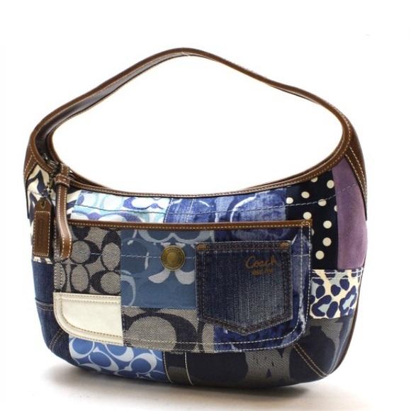 Amazoncom: coach patchwork handbags: Clothing