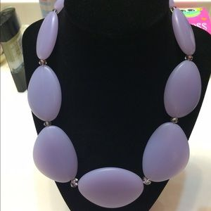 Accessories - lavender stone statement necklace