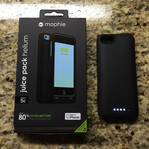 competitive price 61d9f a1b35 Mophie Juice Pack Helium IPhone 5C Battery Case 80