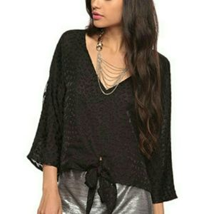 Rory Beca for Forever 21 Textured Heart Top