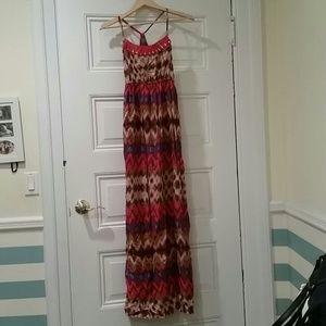 Mossimo Printed Maxi Dress