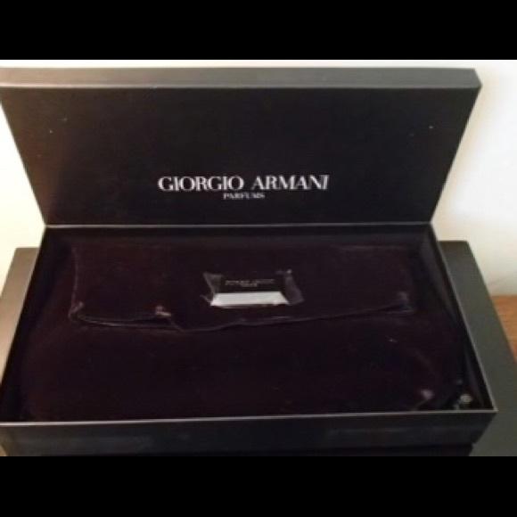 f4a257e8ab37 Goirgio Armani velvet fold over clutch. NWT