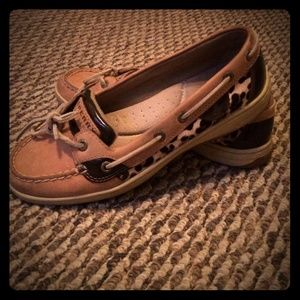 Sperry Top-Sider Shoes - Leopard Print Sperrys