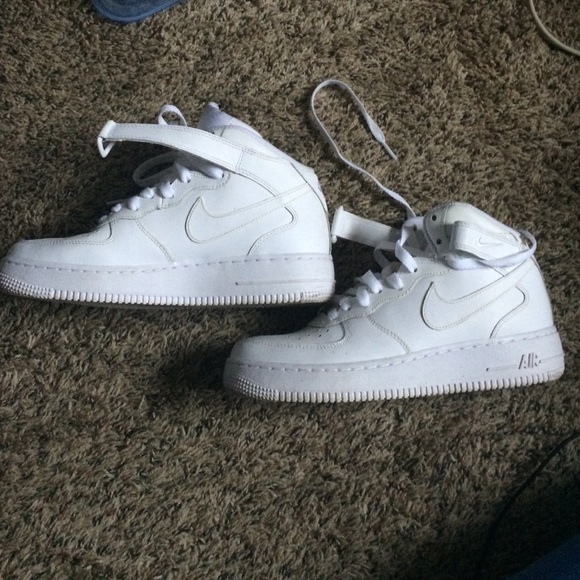 air force 1 high all white
