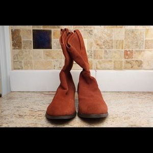 American Eagle Outfitters Shoes - American Eagle suede mid calf boots