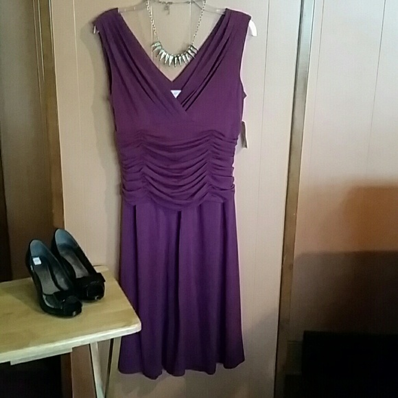 dress barn dresses purple dress new with tag poshmarkpurple dress new with tag