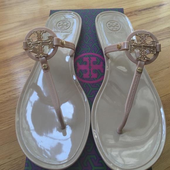 f17ae60ec0d Tory Burch  Mini Miller  jelly sandals. M 55634cf456b2d67ad400c20d