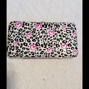 Anchor Blue Clutches & Wallets - ***50% OFF SALE: Anchor Blue Leopard/Pink Wallet