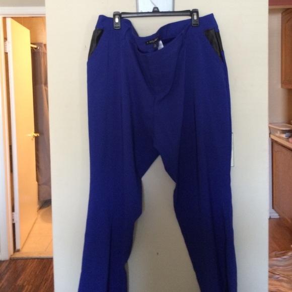 Baby Phat Pants Cobalt Blue Dress Plus Size 24 Poshmark