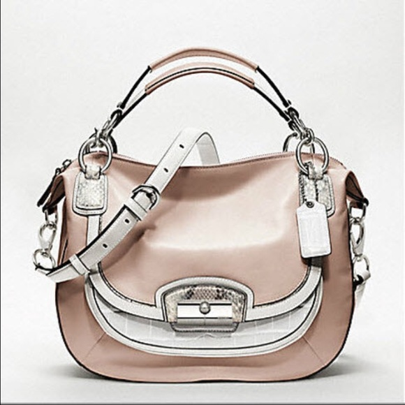 63% off Coach Handbags - Coach KRISTIN SPECTATOR LEATHER ROUND ...