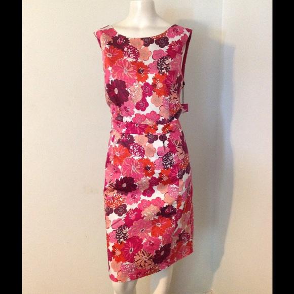 c1b760d232f Liberty of London Target Pink Floral Sheath Dress