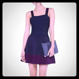 Herve Leger Dresses & Skirts - Herve Leger Adina A-Line Dress in Purple Ombré