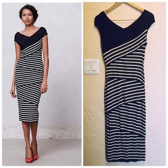 bd4c5798f32f5 Anthropologie Dresses & Skirts - Bailey 44 💙 Anthropologie French Stripe  Dress S M