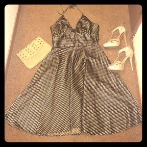 NWOT Halter Satin Dress