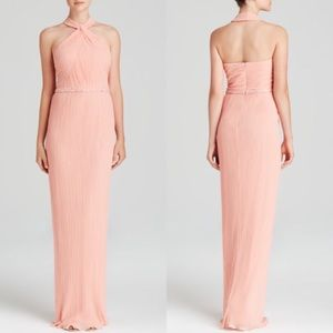 JS Collections Dresses & Skirts - JS Collections Gown - Pleated Halter Neck