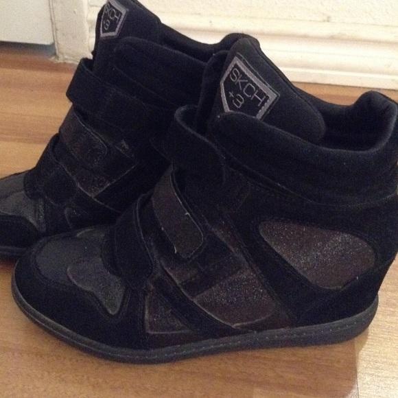 wedge sneakers skechers