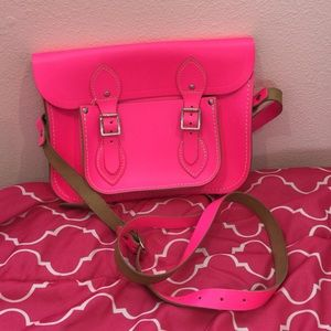 "The Cambridge Satchel Company Handbags - The Cambridge Satchel Company 11"" in Fluoro Pink"