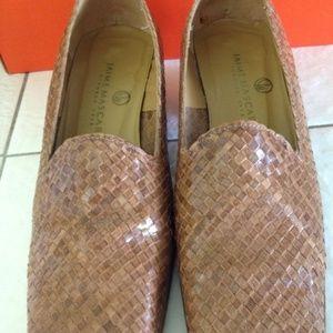 Jaime Moscaro Shoes - JAIME MOSCARO all leather multitonal Loafer shoes