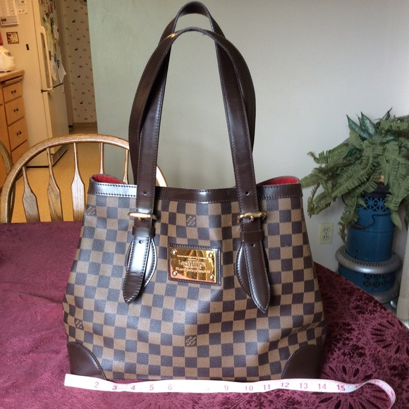 d98b40f89c25d6 Louis Vuitton Bags   Soldauthentic Hampstead Mm Tote   Poshmark