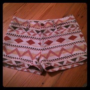 BB Dakota Aztec Shorts