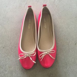 Wet Seal Shoes - Brand new neon pink bow flats