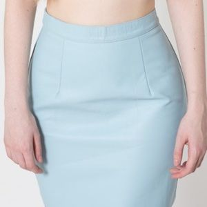 American Apparel Medium Leather skirt