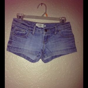 Abercrombie & Fitch denim shorts size 00