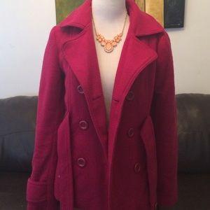 Outerwear - Magenta-Pink Coat 💗