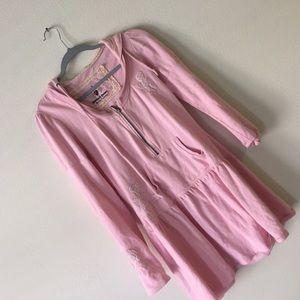 TWISTED HEART Dresses & Skirts - Twisted Heart sweatshirt dress with Hood
