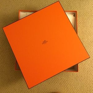 hermes clutch bag - 80% off Hermes Accessories - Large Square Hermes Box fits Birkin ...