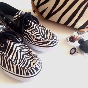 Sperry Top-Sider Shoes - Sperry Top-Sider Zebra Print