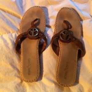 Size 10 Minnetonka sandals