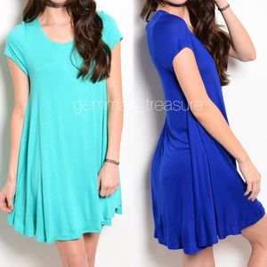|| THE PERFECT LOUNGE DRESS || CHOOSE COLOR/SIZE