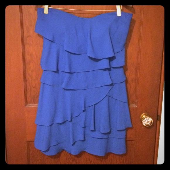 17a9afe97a27f BCBGMaxAzria Dresses | Ginger Dress Blue | Poshmark